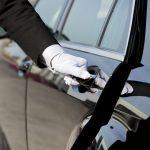 Mayfair concierge opening car door